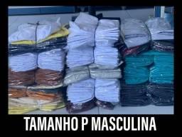 Vendo lote de camisas de malha lisas.