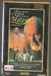 Título do anúncio: vdo431 fita vhs A Palavra de Deus Segundo Mateus - a historia de Jesus