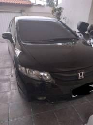 New Civic lxl 1.8 leilão +GNV
