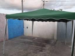 Vendo tenda desmontável impermeável em estado de nova