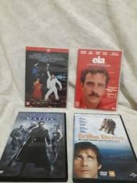 Vários Kits de DVD's por 20 reais