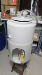Fermentador cilindrocônico com suporte - 30l + headspace (Leia Até O Fim)