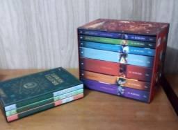 BOX HARRY POTTER + BOX BIBLIOTECA DE HOWARTS