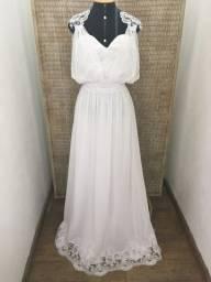 Vestido noiva NOVO musseline