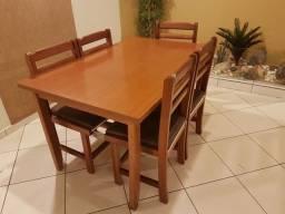Jogos de mesa e cadeira em cedro para restaurante