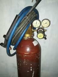 Cilindro de gás completo