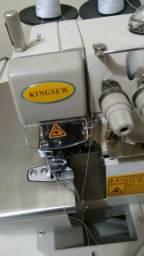 Maquina costura e tesoura eletrica