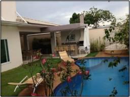 Casa 4 Suítes, 456 m², mobiliada, c/ lazer no Condomínio Mirante do Lago
