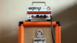Cabeçote Orange Micro Terror 20w + Orange Ppc 108