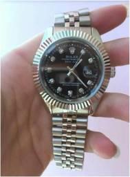 74da2fc1c26 Relógio Rolex Datejust Aço Unissex Novo Todo Funcional