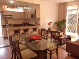 Apartamento à venda com 3 dormitórios em Graça, Belo horizonte cod:450594