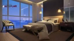 Cobertura com 5 suítes à venda, 511 m² por r$ 15.300.000 - frente mar barra sul - balneári