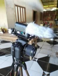 Camera Fotográfica Canon T6I com kit YouTuber
