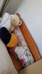 Vendo cama com colchao usado