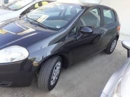 Fiat Punto Attractive 1.4 Flex Preto Unico dono ,primeira parcela ipva 2020 paga - 2012