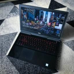 Notebook Dell Inspiron 15 Gamer 7567 - I7, 16GB Ram, 1TB com 128gb SSD