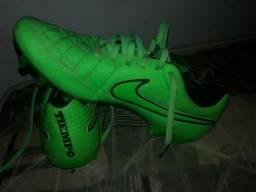 Chuteira Nike Tiempo legend 5 verde limão d912623258fa0