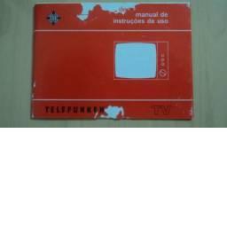 Manual de instruções TV Telefunken Modelo 441