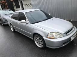 Honda Civic 1.6 16v Ex Manual 1998 Vtec - 1998