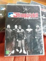 NOVO - DVD Limp Bizkit - Reading Festival