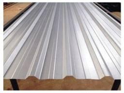 Título do anúncio: 100 Telhas em promoção - meidas diversas - zinco galvanizadas direto da fabrica