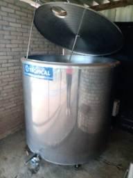 Tanque de resfriamento de leite