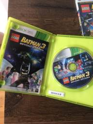 Conjunto jogo lego batman 3 beyond gotham + lego batman 2 dc super heroes