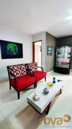 Apartamento à venda com 3 dormitórios em Setor oeste, Goiânia cod:NOV235977