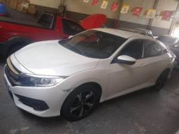Honda civic 2017 2.0 16v flexone ex 4p cvt