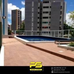 Apartamento com 3 dormitórios à venda, 94 m² por R$ 600.000 - Miramar - João Pessoa/PB