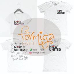 Camisa Now United Infantil e Adulto