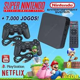 Video Game Retro Box Com Jogos Clássicos 32gb Super Barato