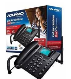 Telefone Celular Rural Aquário Quadriband DualChip CA-42