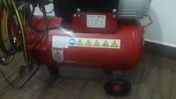 Compressor schulz 120 libras 110v de 2 hp