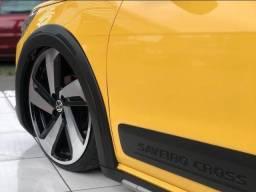 Volkswagen saveiro cross amarela 2012 1.6 mi total flex 8v cabine estendida R$35.300