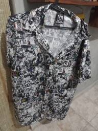 Camisa Metal Carbono