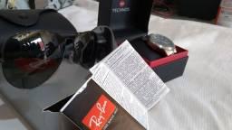 Óculos de Sol + relógio.
