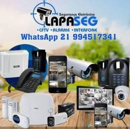 Serviço de Manutenção Reparos CFTV Alarme Interfone PABX Fechadura