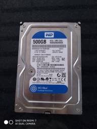 HD INTERNO WD BLUE 500GB - PC
