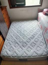 Colchão de casal para cama box Americanflex com pillow top e molas ensacadas