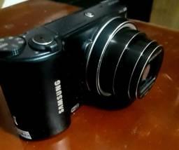 Máquina fotográfica e filmadora samsung seminova