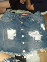 Vendo saia jeans