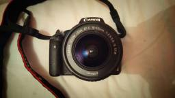 Câmera  fotográfica Canon T1i - lente 18-55
