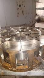 Divisora de pães com navalha de inox