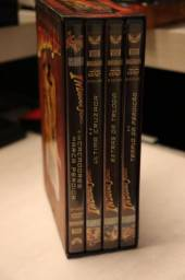 Dvd - Box Indiana Jones - Trilogia Mais Extras