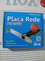 PLACA DE REDE/PCI 10/100 *NOVA*