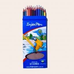 Lápis de Pintar InjexPen 12 Cores