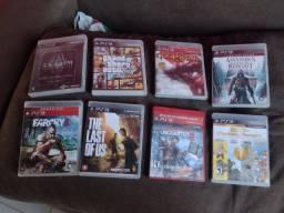 jogos PS3 pra vender logo todos originais