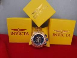 Relógio invicta na caixa valor 200