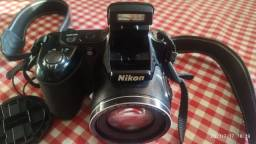 Câmera Nikon semi profissional Coolpix